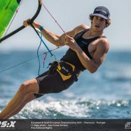 Europeo windsurf olimpico RS:X a Vilamoura